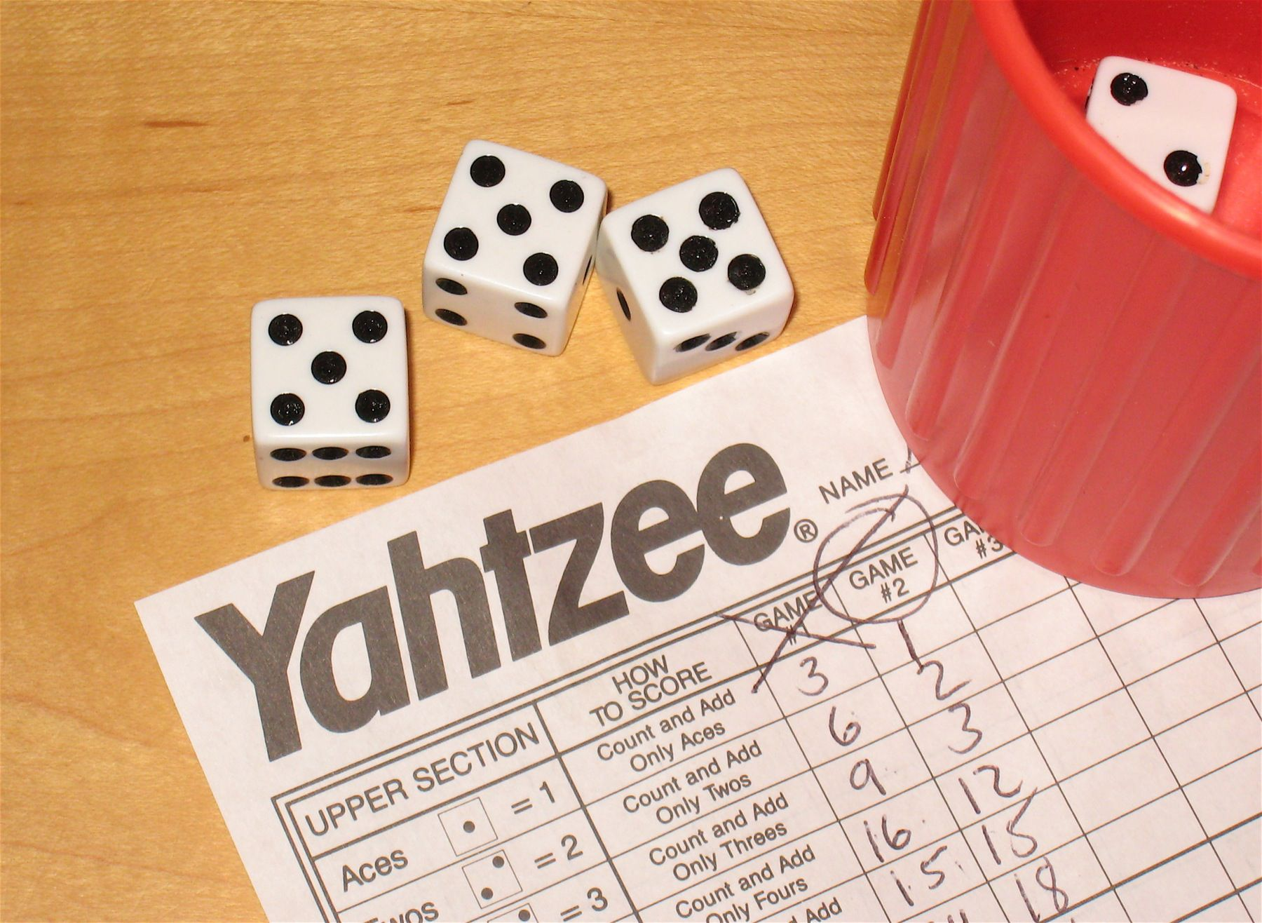 The Probability Of Rolling A Full House In Yahtzee