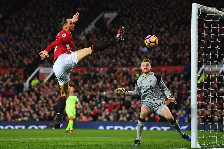 Zlatan Ibrahimovic Manchester United l