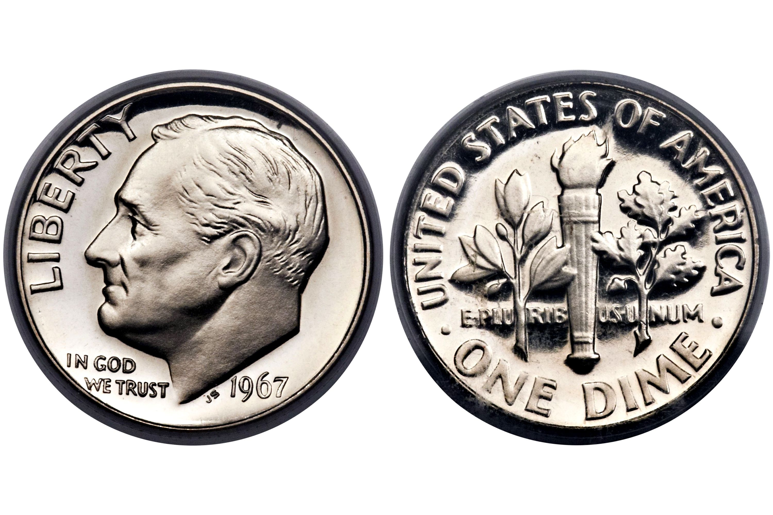 Roosevelt Clad Dime Values And Prices