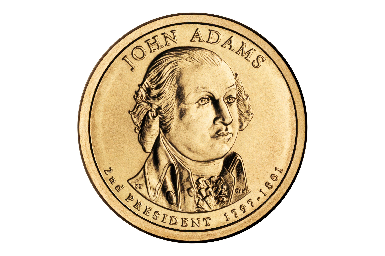 The John Adams Presidential Dollar Coin