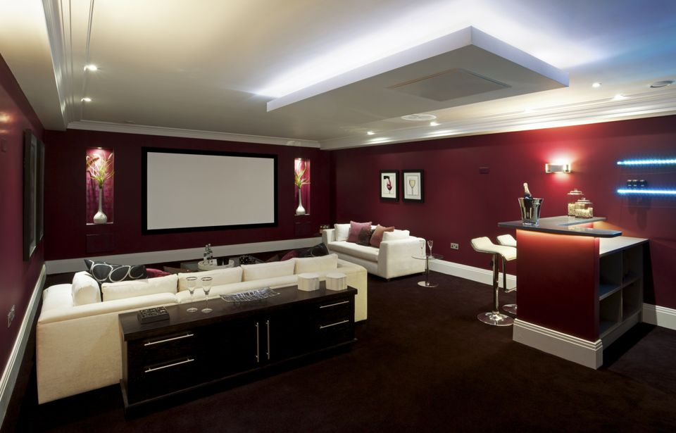8 Man Cave Ideas That Will Inspire You, Best Colors For Basement Man Cave