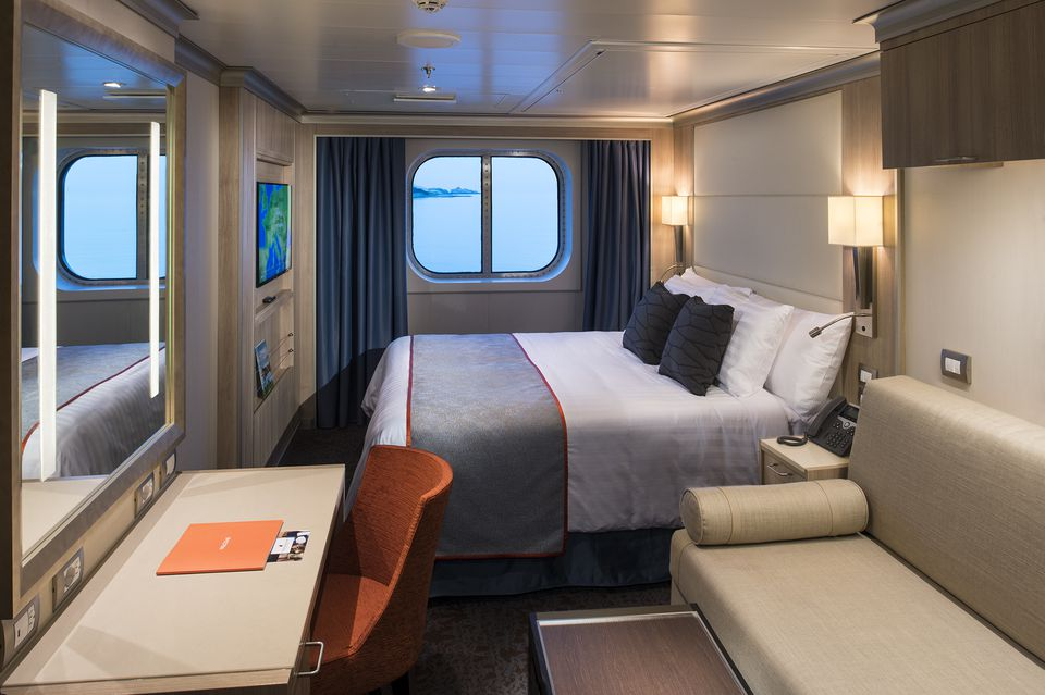 Holland America Koningsdam Cruise Ship Cabins