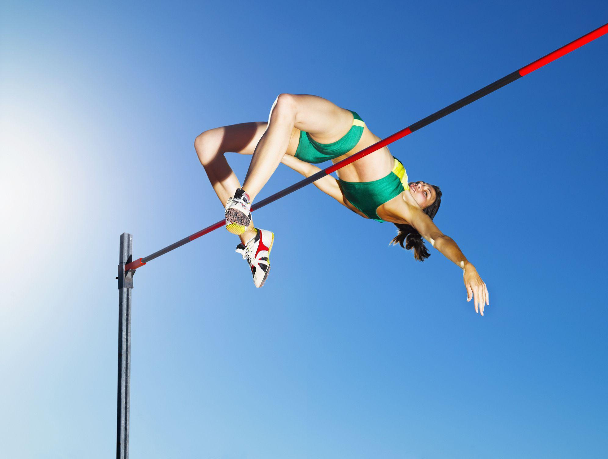 High Jump Approach Technique