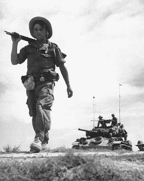 South Vietnam War Ho Declares Minh Chi