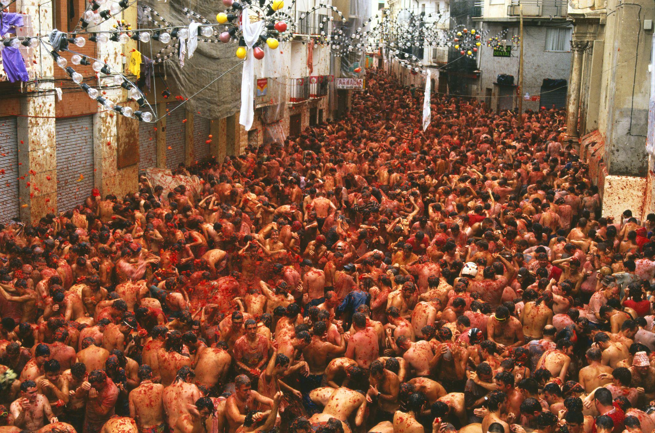 Weird Throwing Festivals In Spain