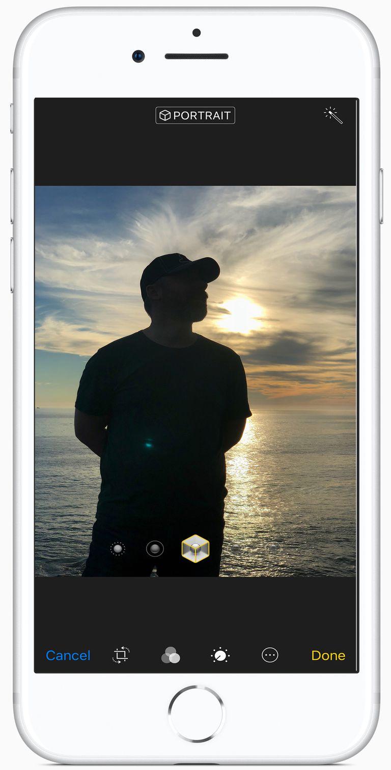 Portrait Lighting App Iphone 6