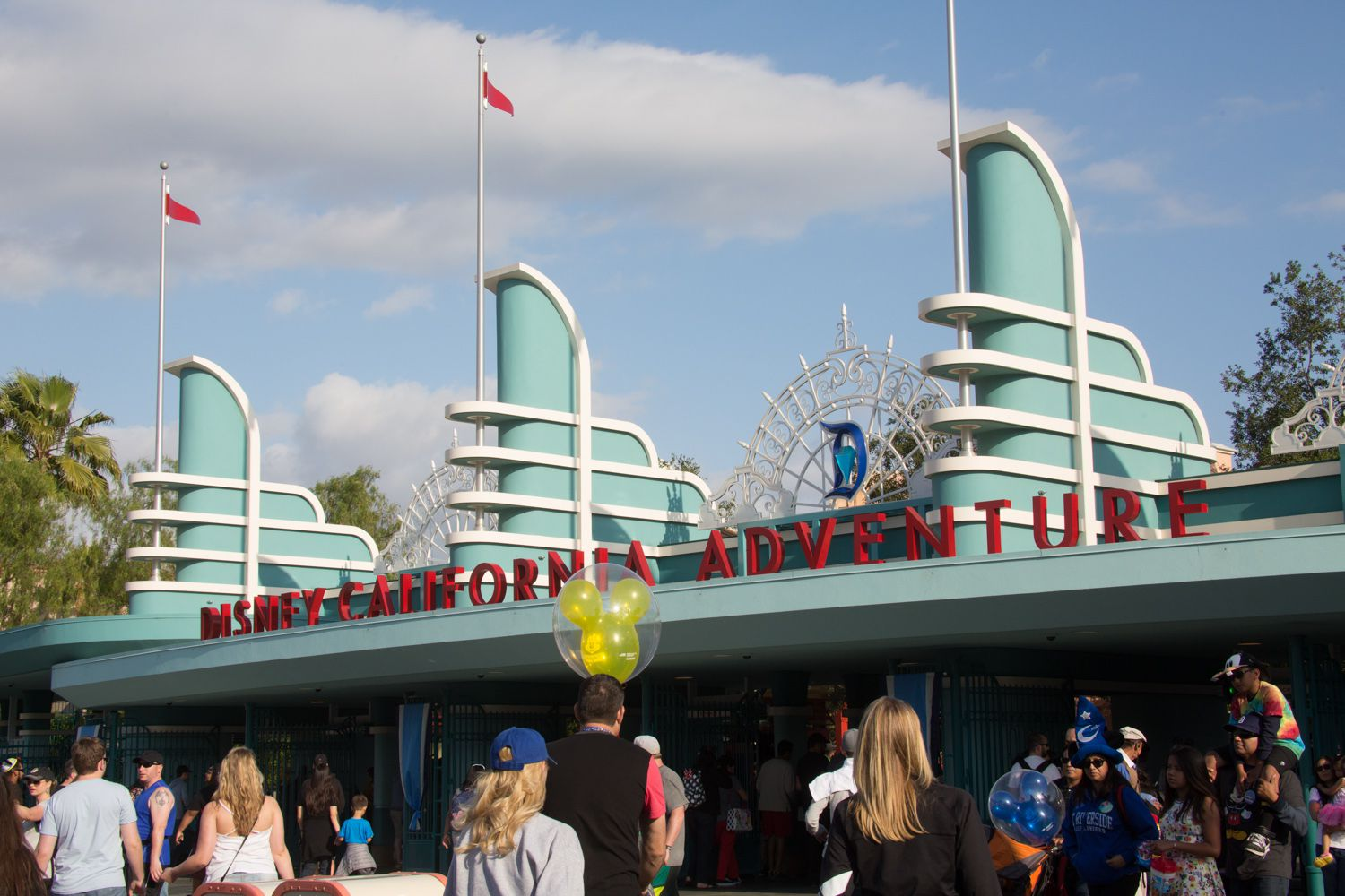 California Adventure Rides And Attractions By Location