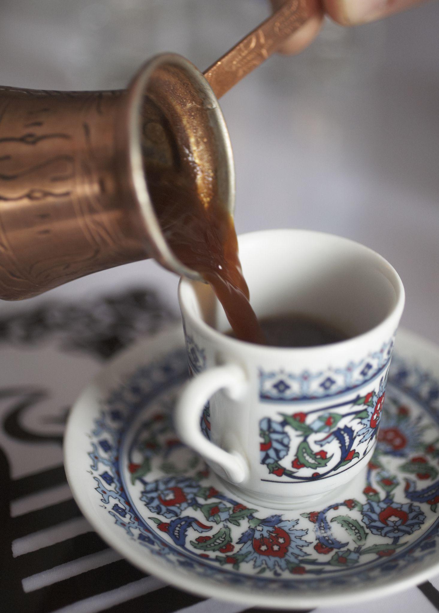 Recipe For Turkish Coffee Or Turska Kafa