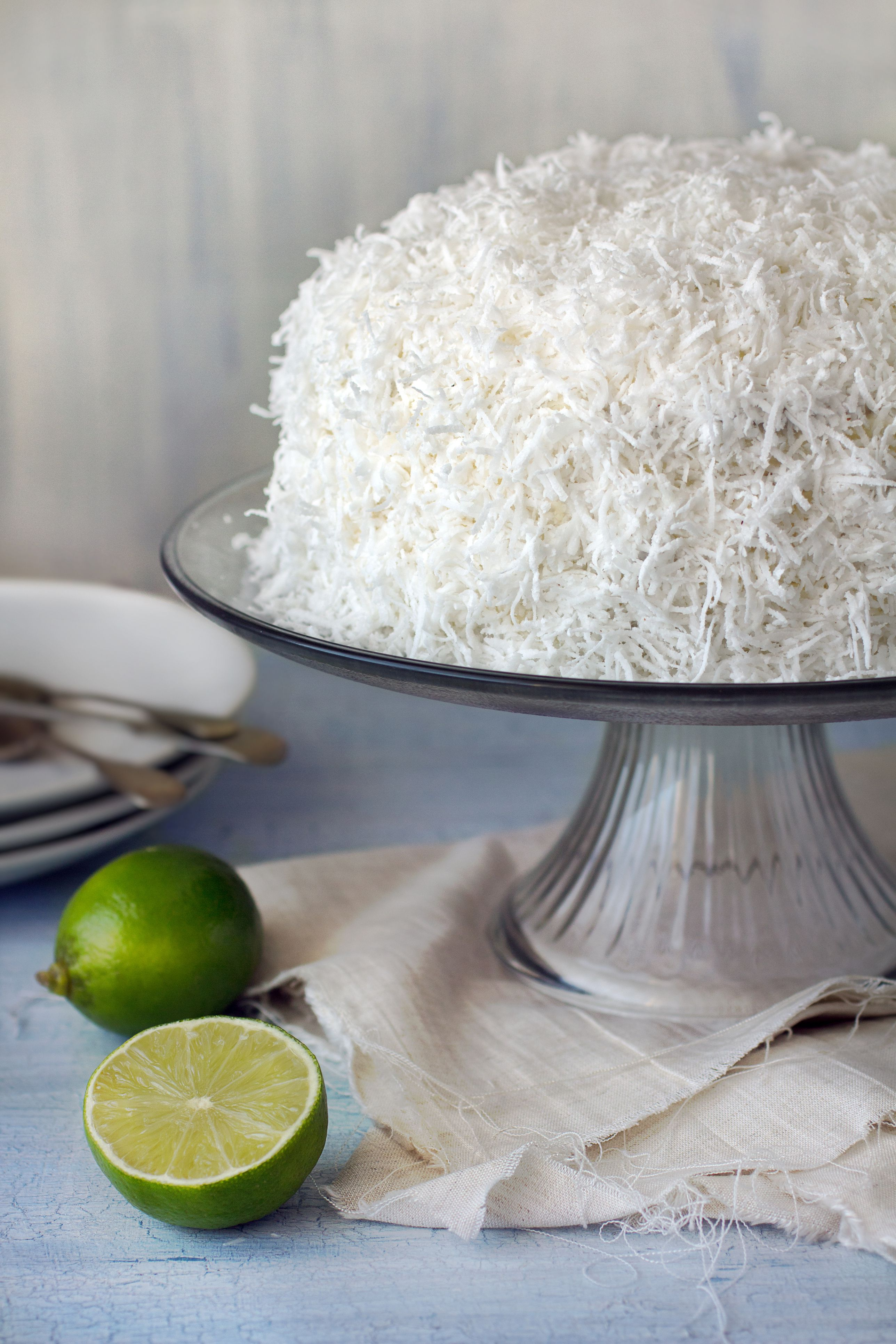 Coconut Cake Recipe With Fluffy Coconut Icing