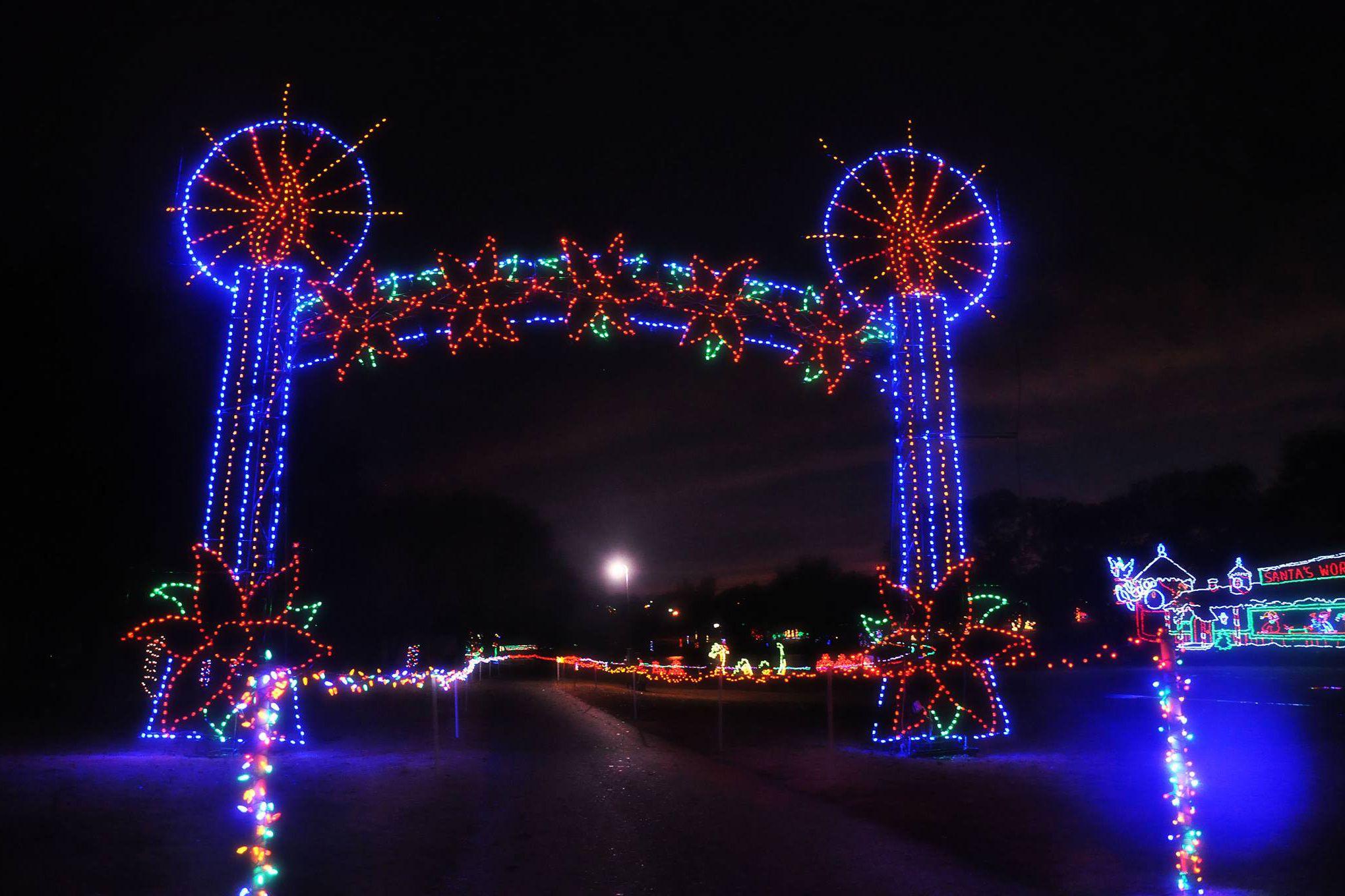 Oklahoma Christmas Lights