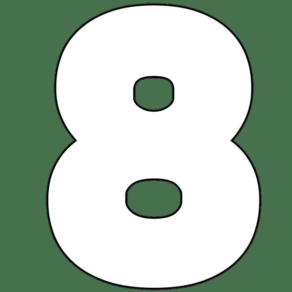 Free Printable Numbers 0 - 9
