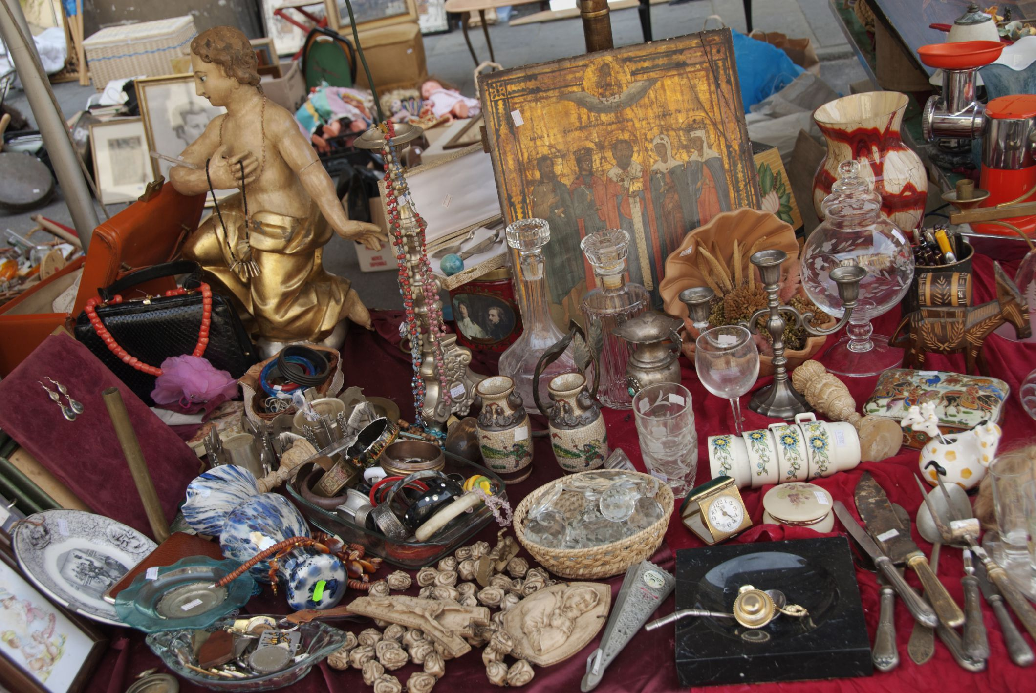 Marburger Farm Antique Show In Round Top Texas