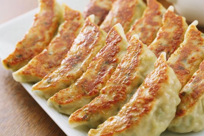 Recipe for Shrimp Gyoza (Japanese Potstickers)