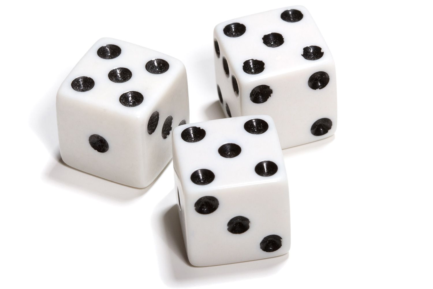 Probabilities For Rolling Three Dice