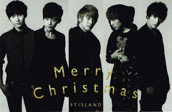 FTIsland Polar Star Christmas Postcards 2