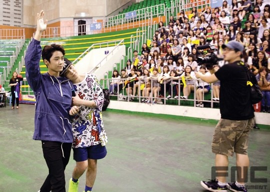 31.08.14 - ftisland athletics pri day 17