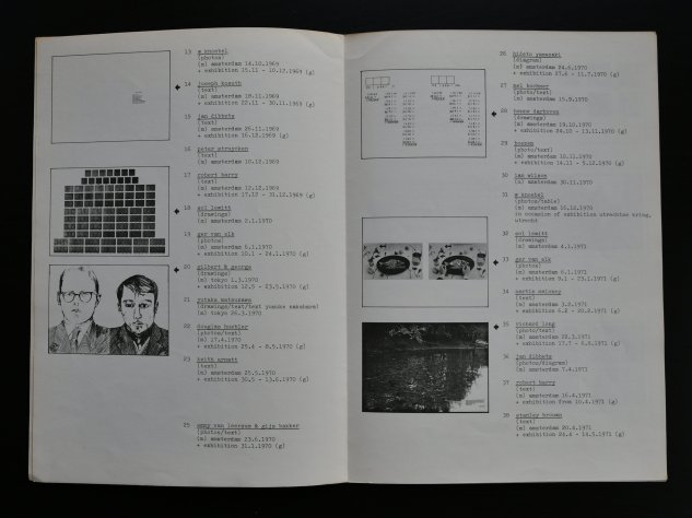 art project bulletin catalogue 1972