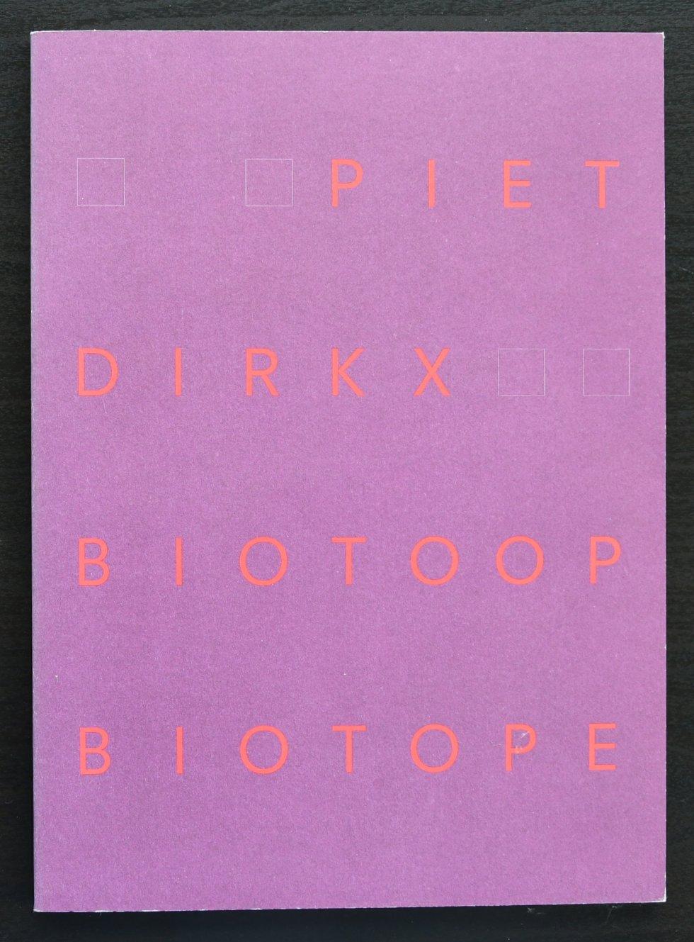 dirkx biotoop weekly