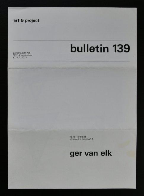 elk bulletin 139 a
