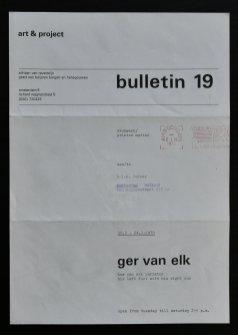 elk bulletin 19 a