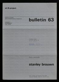 brouwn bulletin 63 a