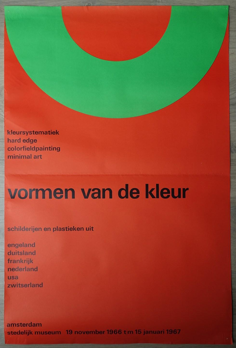 vormen kleur poster b