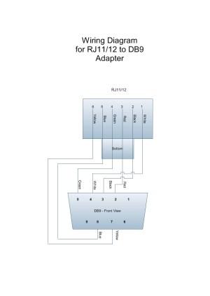 Usb To Db9 Pinout Diagram | Wiring Diagram