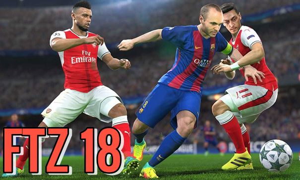Download First Touch Soccer FTZ 18 APK {Mod+Data+OBB Files}