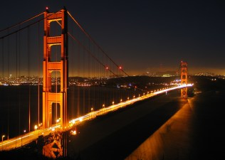 The Golden Gate Bridge towers inspired the choice of switch