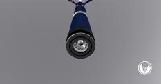 Ranger Blue Pommel 2