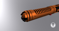 Cylon Command Body and Pommel