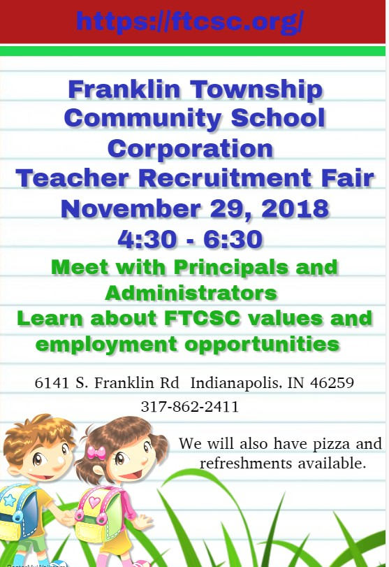 Teacher Recruitment Fair Flyer