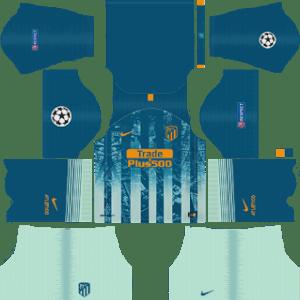 Atletico Madrid UCL Third Kit