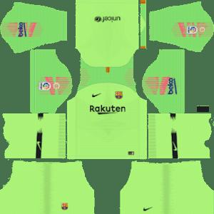 Barcelona Gk Home kit 2019
