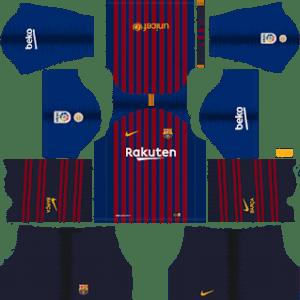 Barcelona Kits 2018/2019 Dream League Soccer