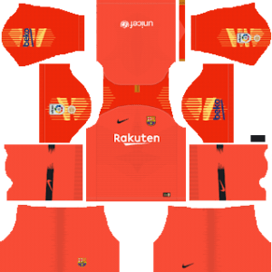 Barcelona gk third kit 2019