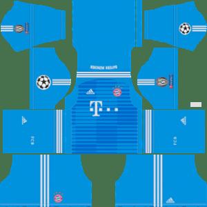 Bayern Munich UCL Goalkeeper Away Kit