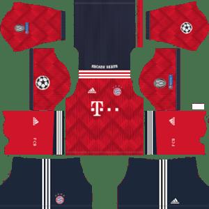 Bayern Munich UCL Home Kit