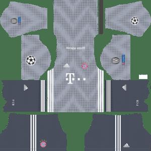 Bayern Munich UCL Third Kit