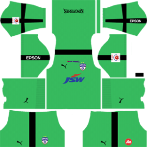 Bengaluru FC Goalkeeper Away Kit 2019