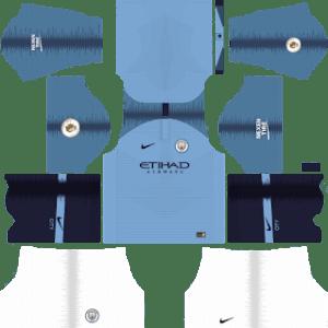 Manchester City Kits 2018-2019 Dream League Soccer