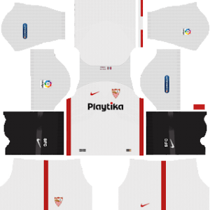 Sevilla FC Kits 2018/2019 Dream League Soccer
