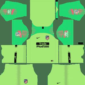 Atletico Madrid Goalkeeper Away Kit 2019