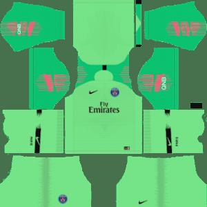 Paris Saint-GermainGoalkeeper Away Kit 2019