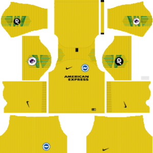 Brighton & Hove AlbionGoalkeeper Away Kit 2019