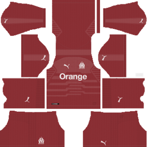 Olympique de Marseille Goalkeeper Away Kit 2019
