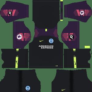Brighton & Hove AlbionGoalkeeper Home Kit 2019