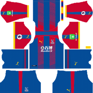 Crystal Palace Kits 2018/2019 Dream League Soccer