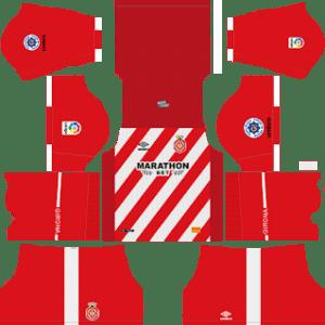 Girona FC Kits 2018/2019 Dream League Soccer