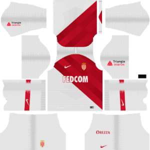 AS Monaco FC Kits 2018/2019 Dream League Soccer